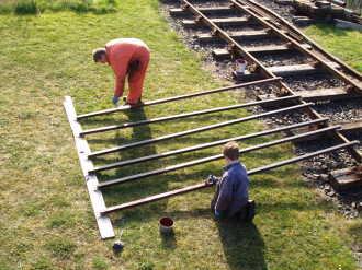 46464 Ivatt Class 2 Infrastructure